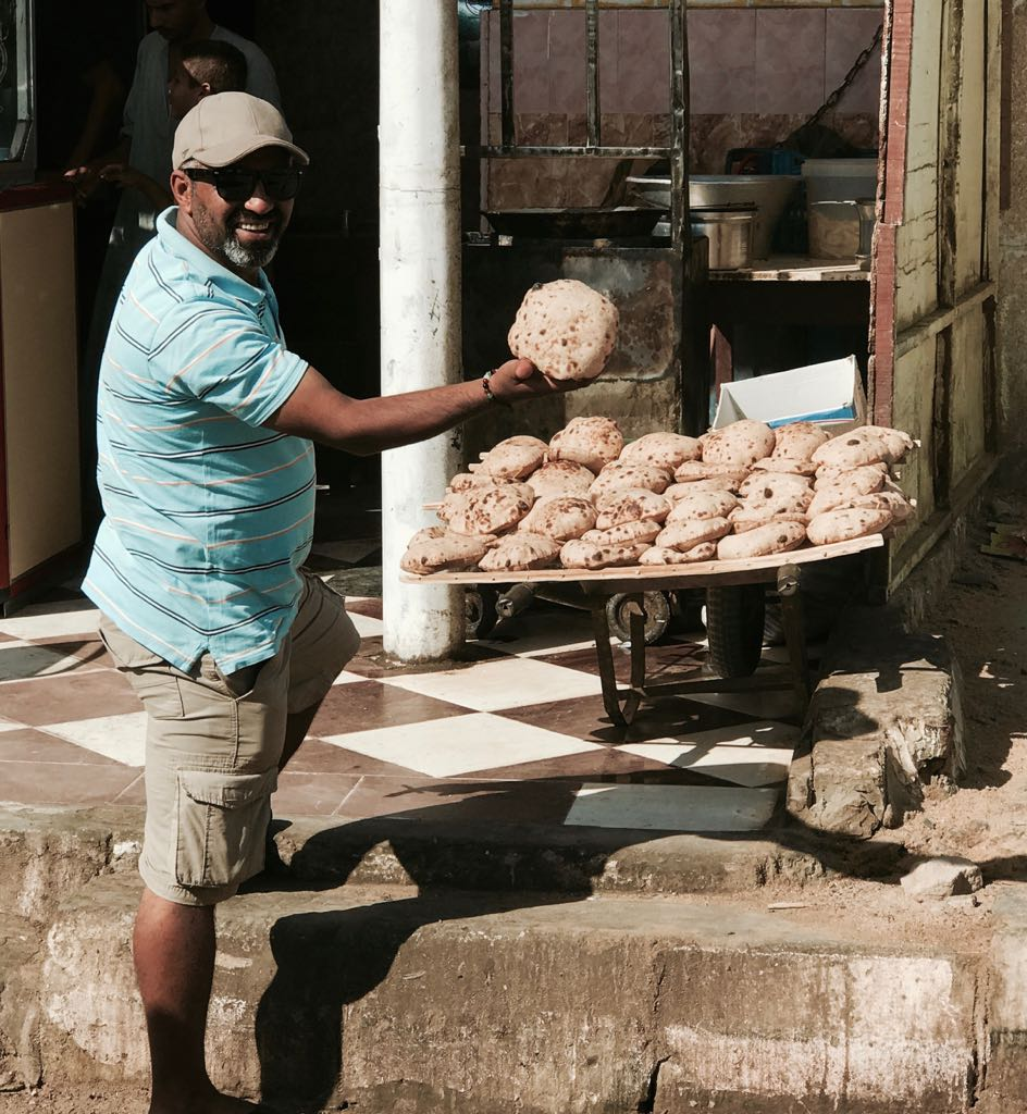 Fresh Bread in Giza