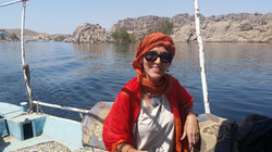Boat to Isis Temple