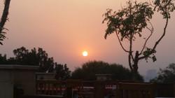 Sunset at Al Ahzar Park Cairo