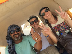 Carriage ride in Giza