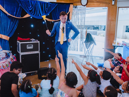 The Importance of a Magic Show in a Party for Kids