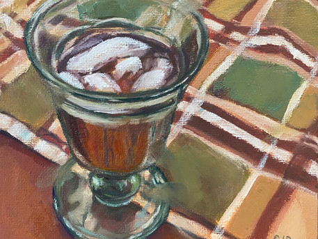Iced Tea and Plaid