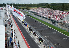 Гоночная трасса гоночный трек Moscow Raceway