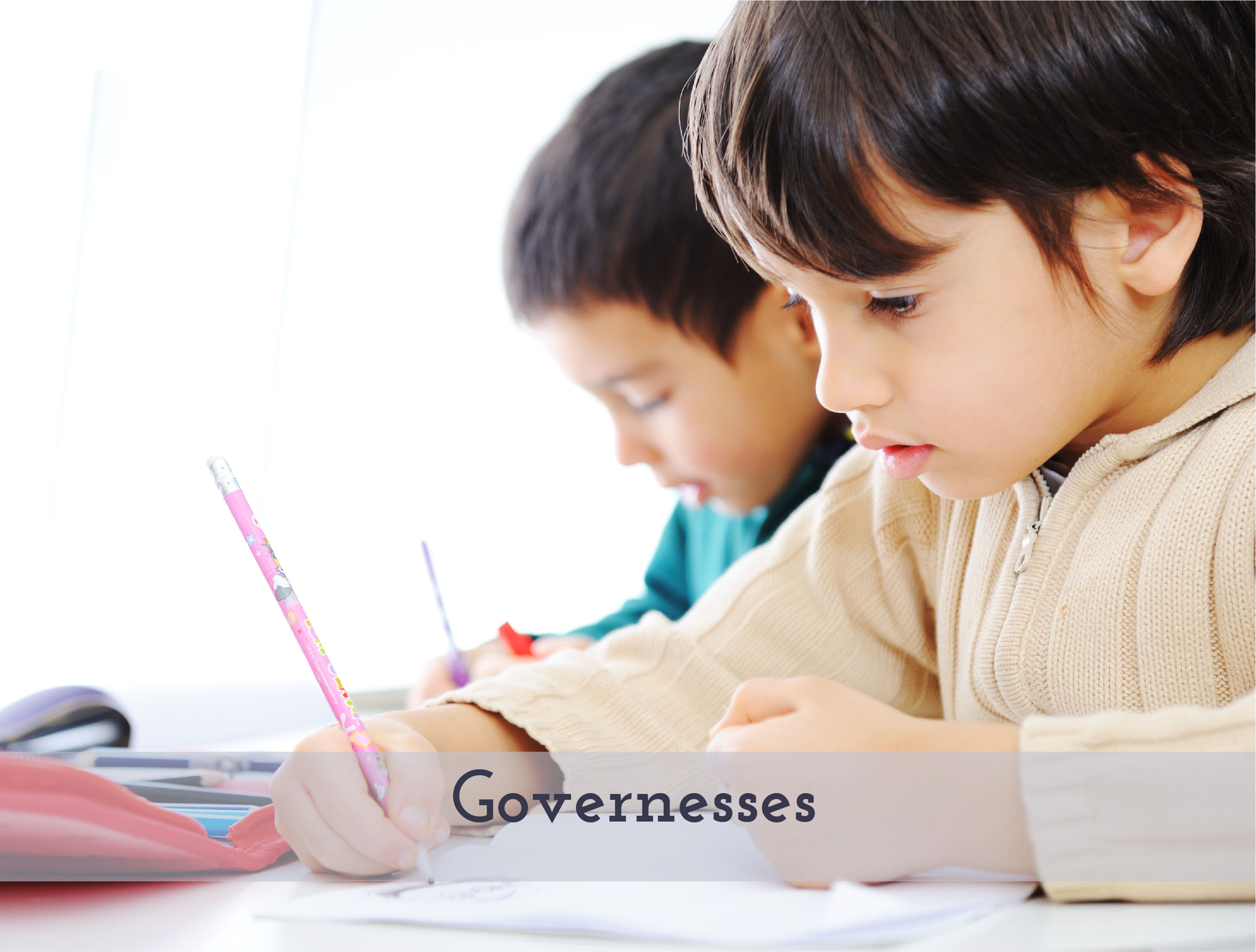Governess for two young boys