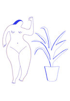 nude-and-plant