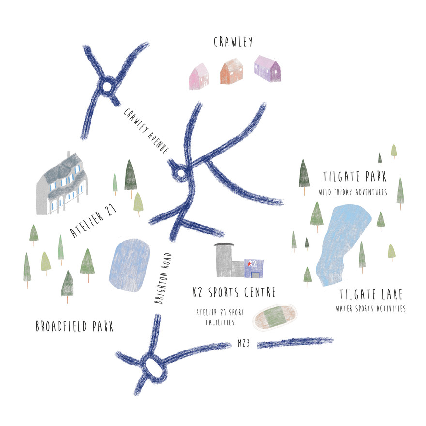 Atelier 21 map