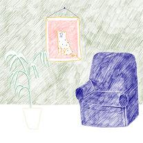 Sofa,-print-and-plant