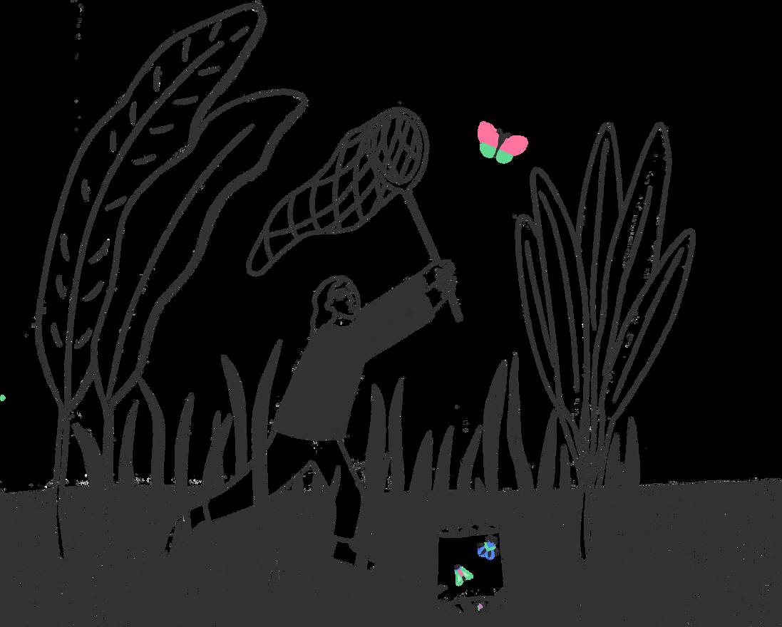 Exploring - book illustration