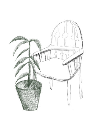plant-and-chair