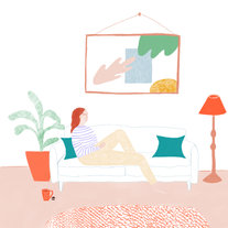 On-the-sofa