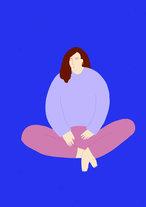 Lady-Sitting