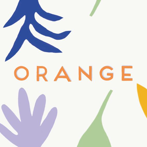 Orange - crispin album art