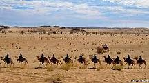 moritanyalı çöl insanları