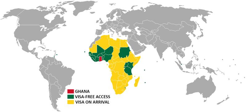 Gana'nın Vize Politikası