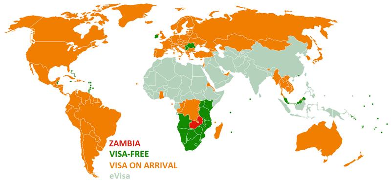Zambiya'nın Vize Politikası
