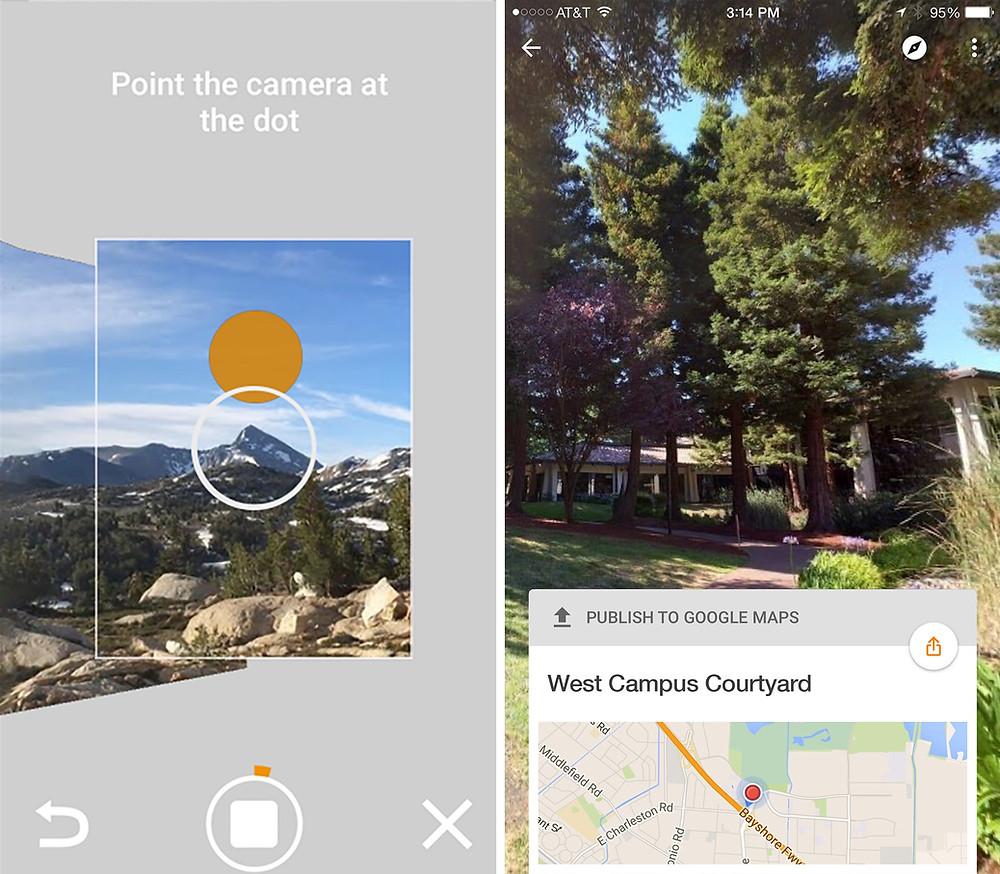 Image of Google StreetView App
