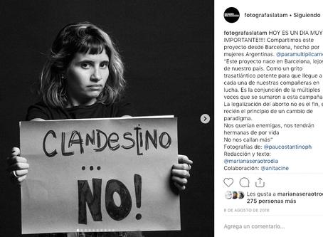@ParaMultiplicarnos en Fotógrafas Latinoamericanas