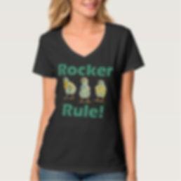 www.therockerchic.com Black T Shirt