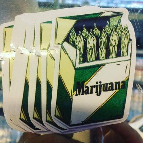 Box of Marijuana