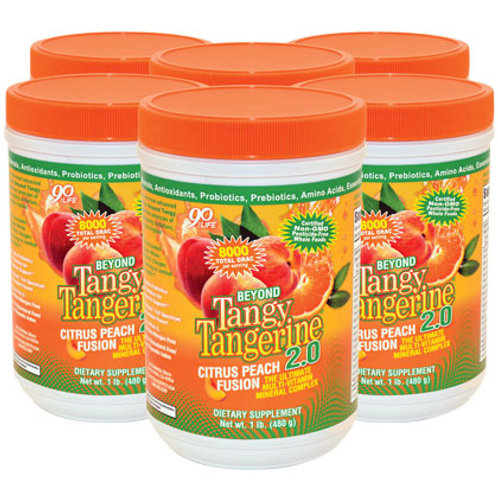 BTT 2.0  - Citrus Peach Fusion - 480g -6pk