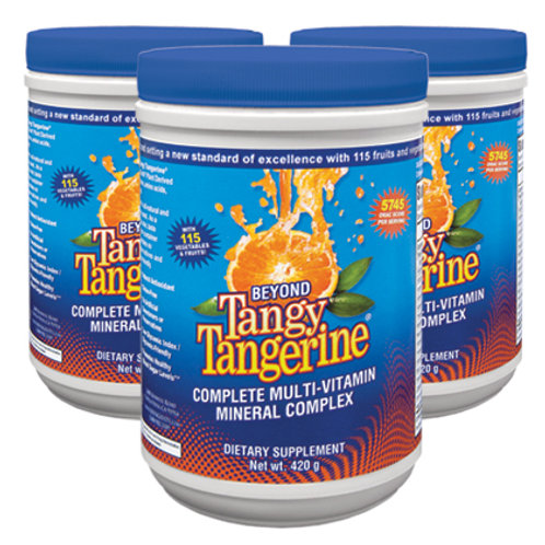 Beyond Tangy Tangerine® - 420g canister 3pk