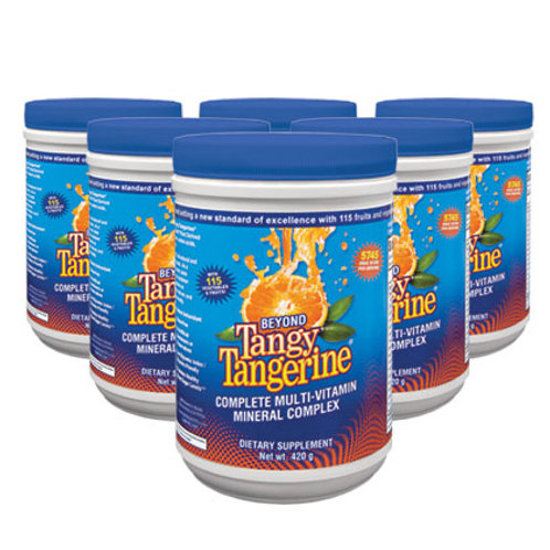 Beyond Tangy Tangerine® - 420g canister 6pk