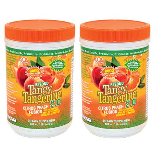 BTT 2.0  - Citrus Peach Fusion - 480g -2pk