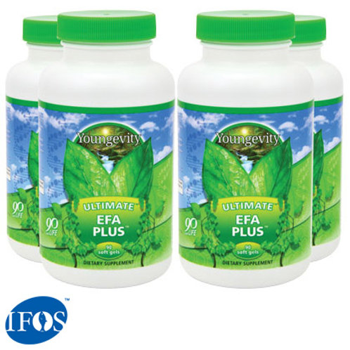 Ultimate™ EFA Plus™ - 90 soft gels - 4pk