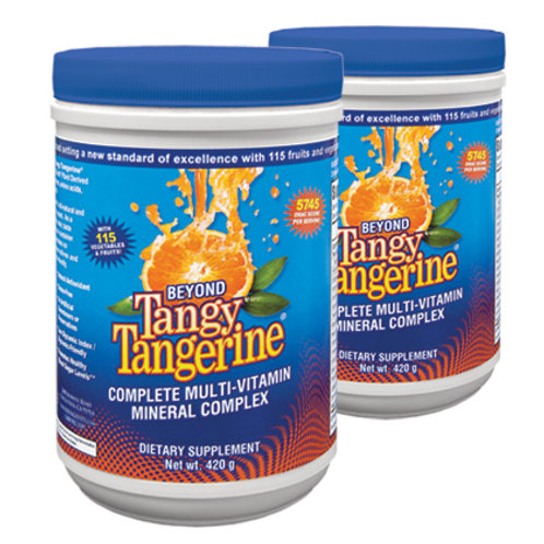 Beyond Tangy Tangerine® - 420g canister 2pk