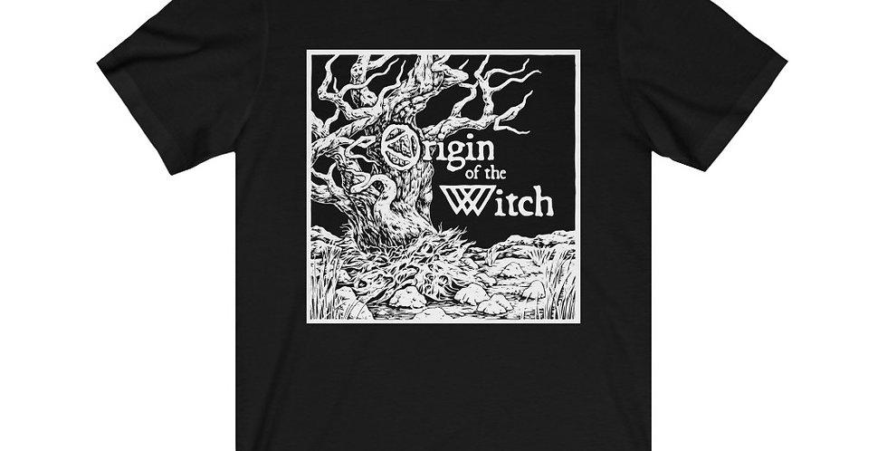 Origin of the Witch IPA Unisex Jersey Short Sleeve Tee
