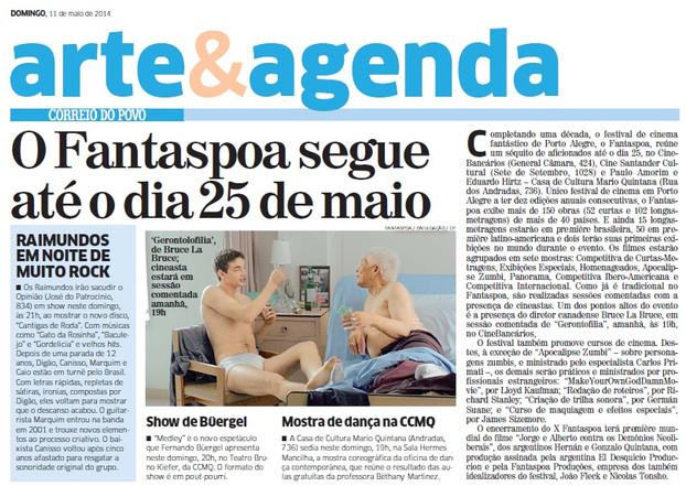 Correio do Povo - 11.05.2014