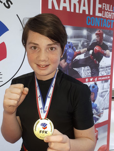 Championnat Karate Semi Contact Mars 2018