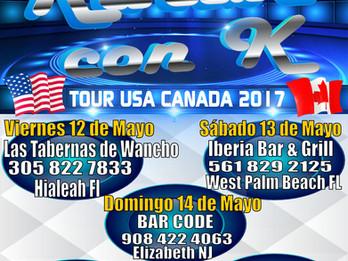 Tour Karibe con K, USA-CANADA