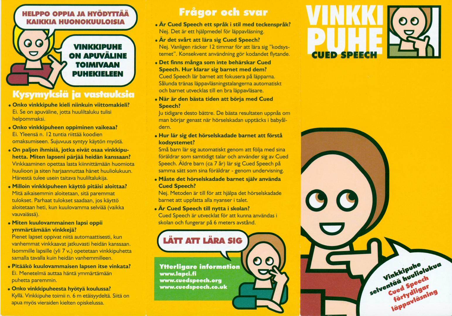 Vinkkepuhe (Finnish CS)