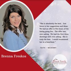 Brenna testimonial