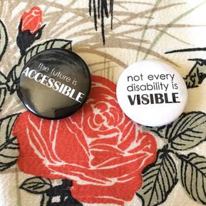 Disability Awareness Pins, 2018