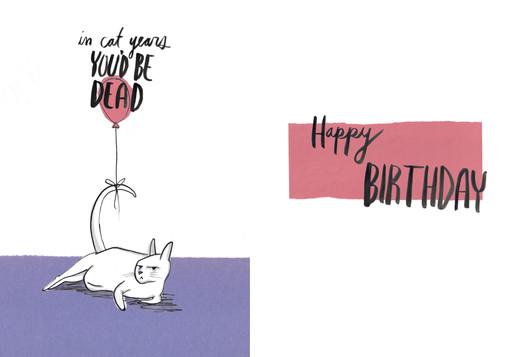 Birthday Card, 2015