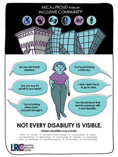 Invisible Disabilities Awareness Poster, 2017