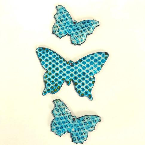 Enamelled Butterflies