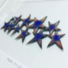 Enamelled stars