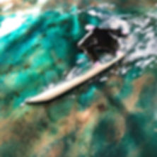 Enamelled Surfer