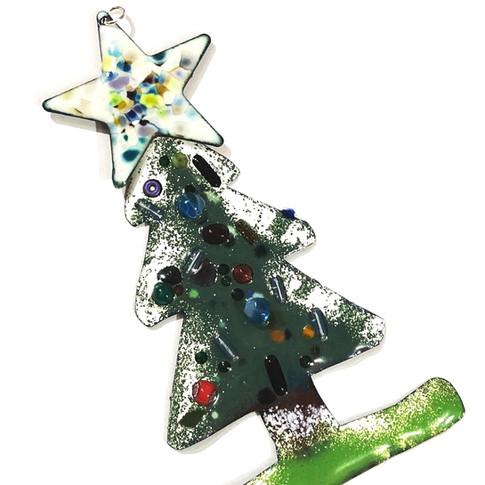 Enamelled Christmas Tree