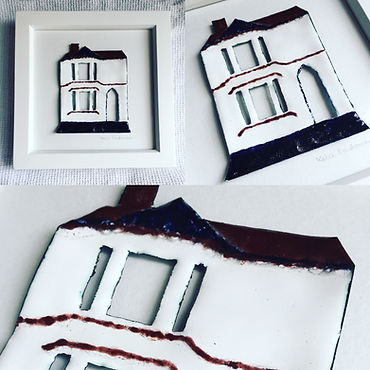 Enamelled house