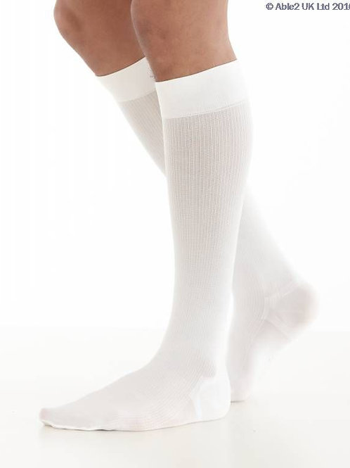 Neo G Energizing Daily Wear Mens Socks - White - Small