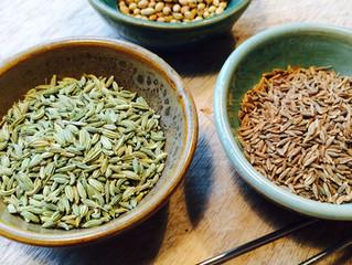 Lag selv - rensende krydder-te