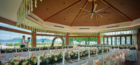 Wedding at The Pavilion, Shangri-La's Tanjung Aru Resort & Spa