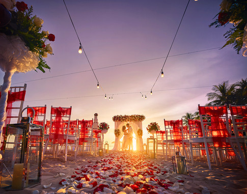 Wedding on the Sunset Beach