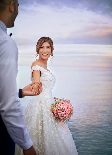 Wedding by the South China Sea, Shangri-La's Tanjung Aru Resort & Spa