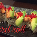 Angry bird roll