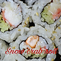 Snow crab roll